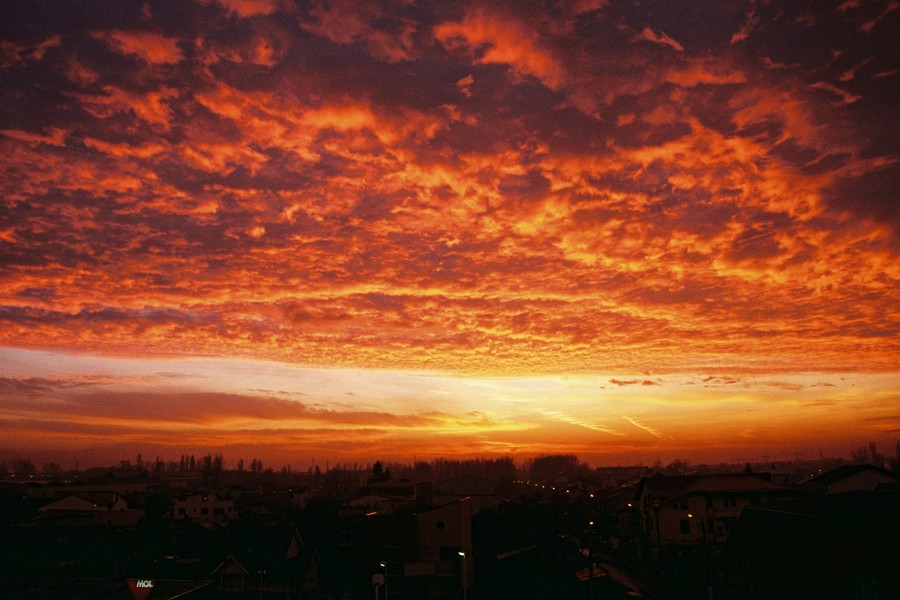 Sunrise - Bucharest